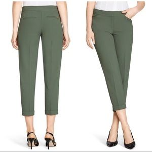 WHBM Olive Green Crop Pants size 00
